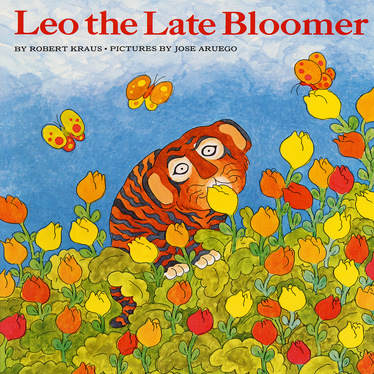 Printable Leo the Late Bloomer Audiobook Cover Art