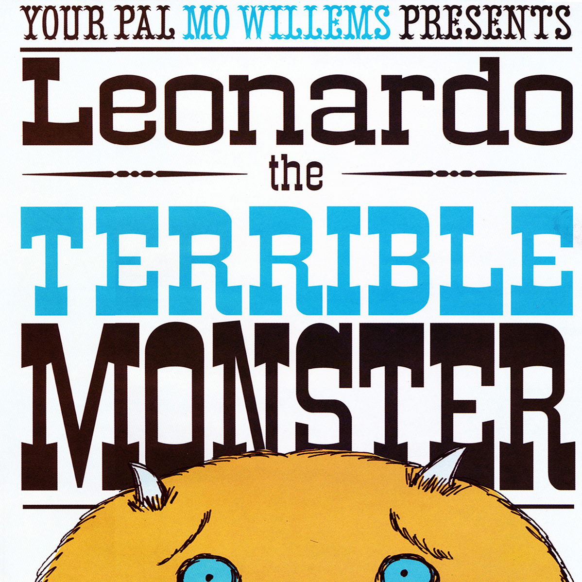 Printable Leonardo, the Terrible Monster Audiobook Cover Art