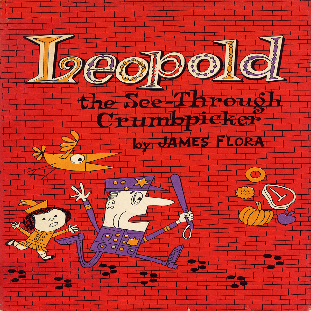 Printable Leopold, the See-through Crumb Picker Audiobook Cover Art