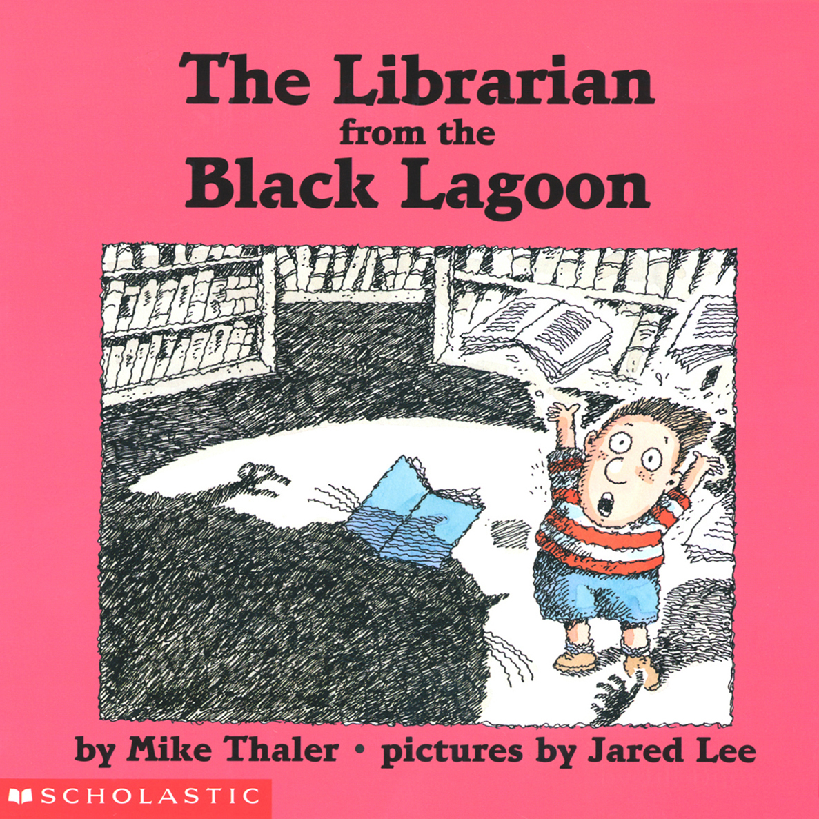 Printable Librarian from the Black Lagoon Audiobook Cover Art