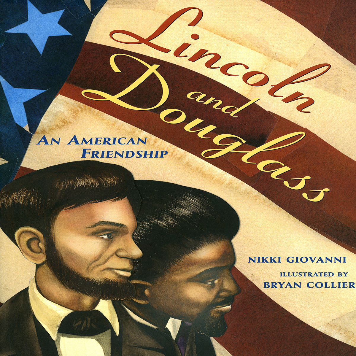 Printable Lincoln and Douglass: An American Friendship Audiobook Cover Art