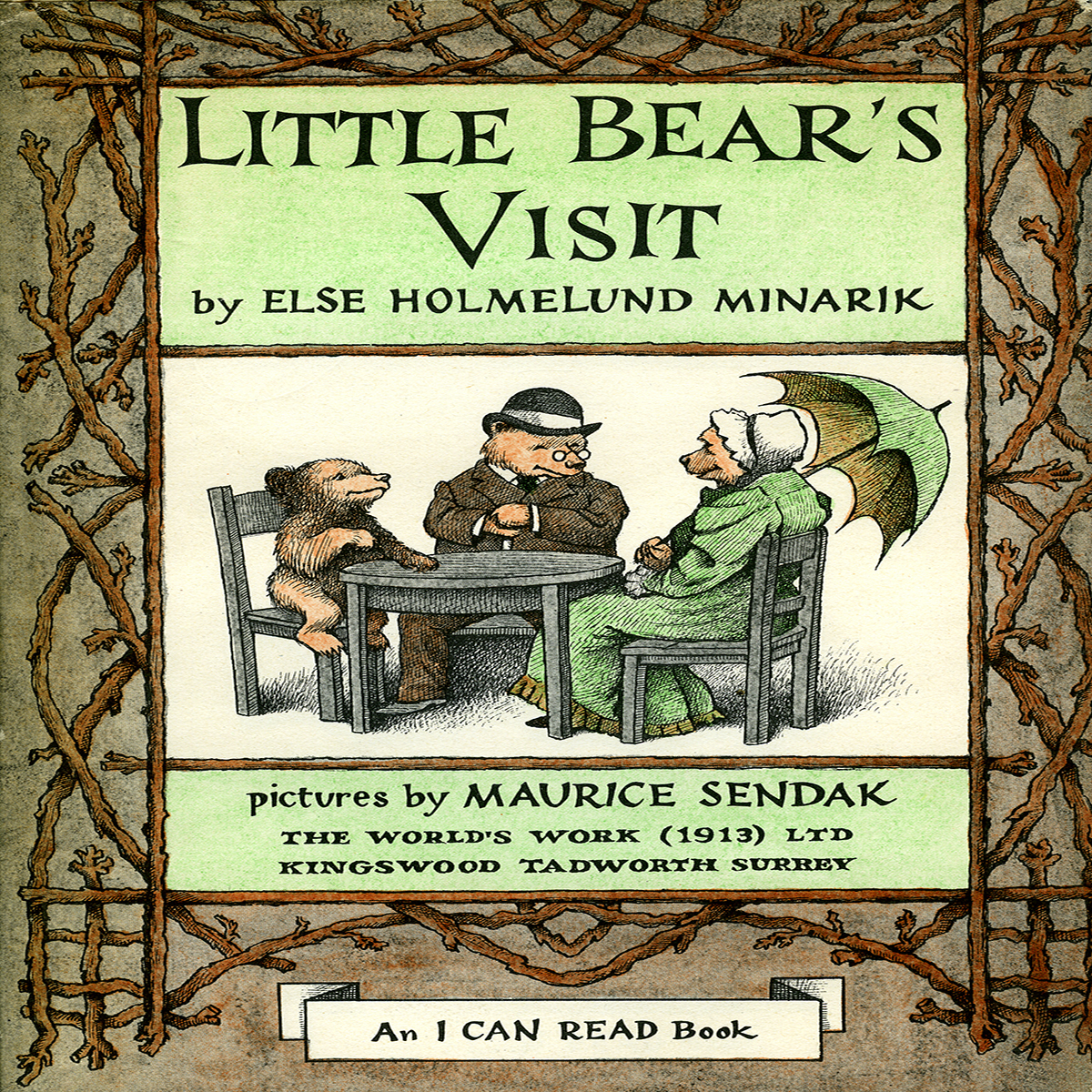Printable Little Bear's Visit Audiobook Cover Art
