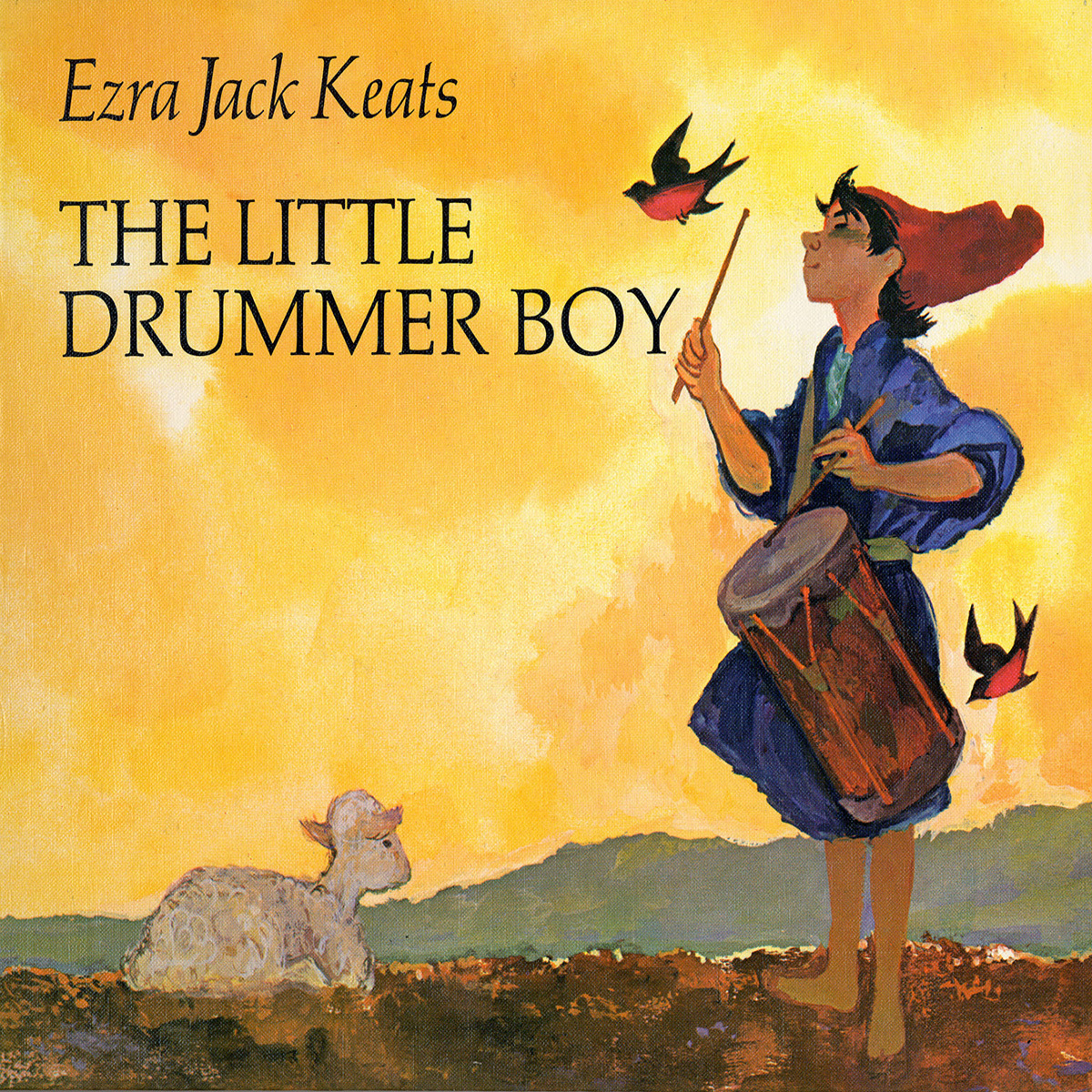 Printable The Little Drummer Boy Audiobook Cover Art