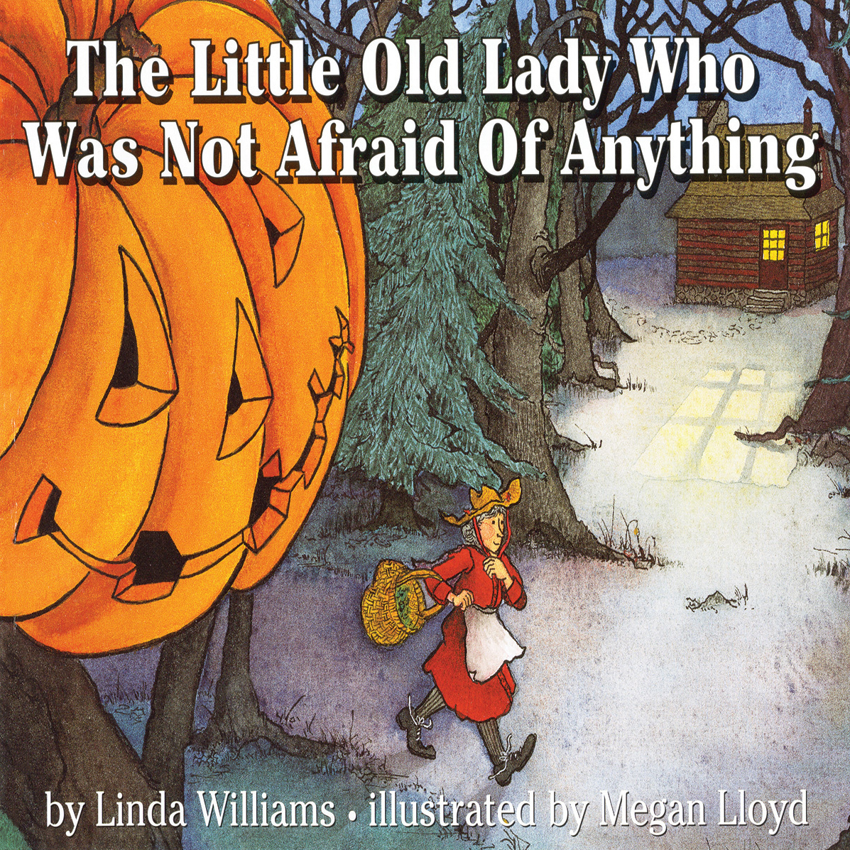 Printable Little Old Lady Who Was Not Afraid of Anything Audiobook Cover Art