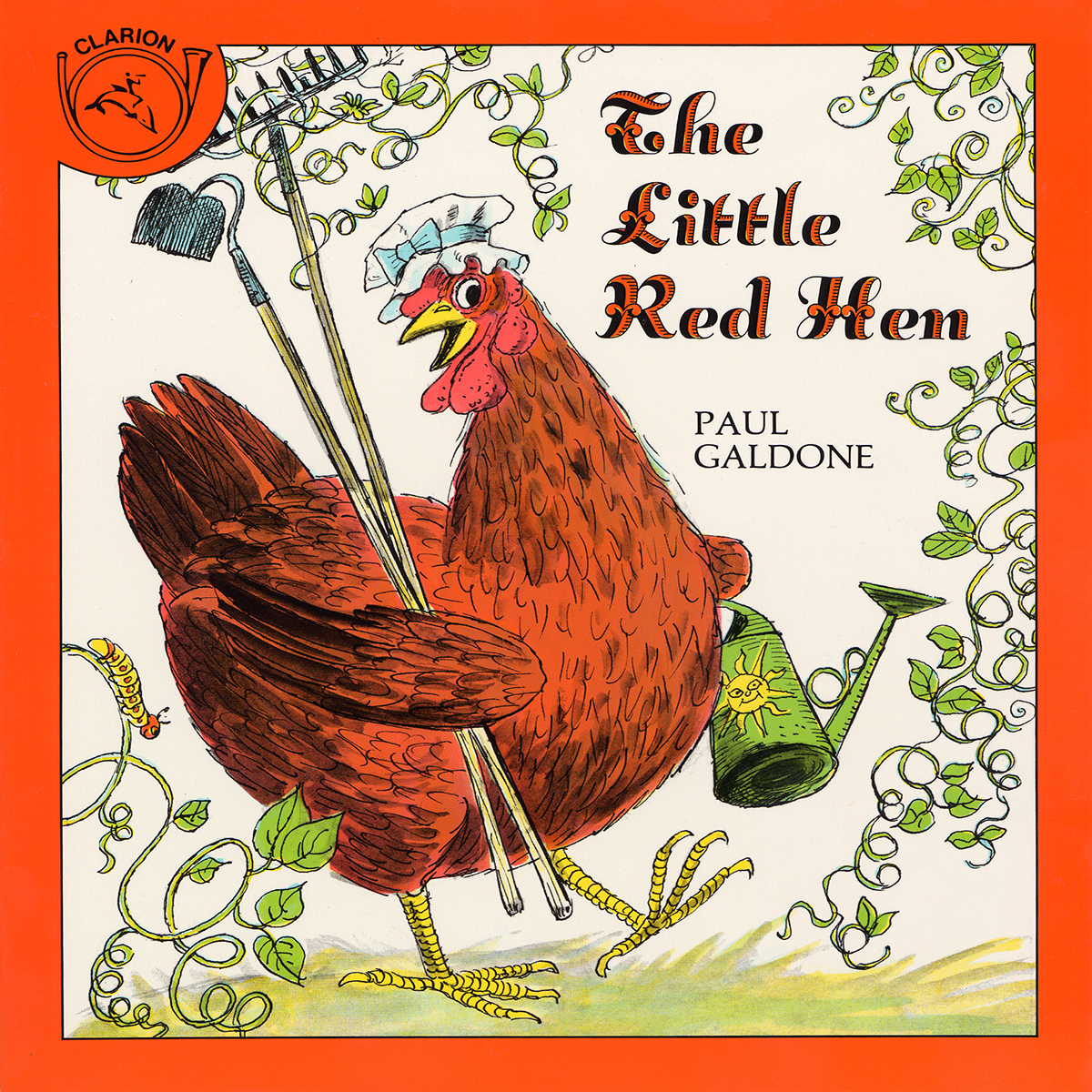 Printable The Little Red Hen Audiobook Cover Art