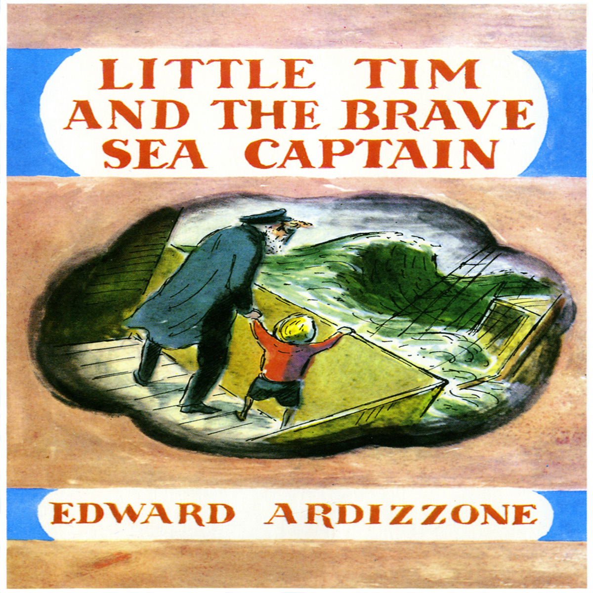 Printable Little Tim and the Brave Sea Captain Audiobook Cover Art