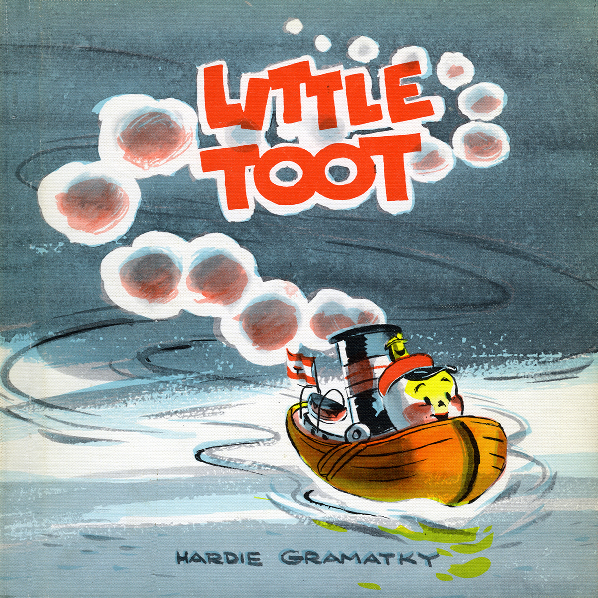 Printable Little Toot Audiobook Cover Art