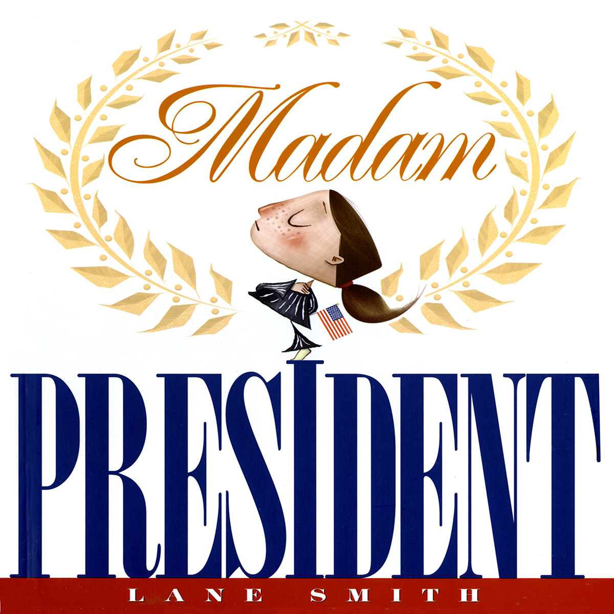 Printable Madam President Audiobook Cover Art