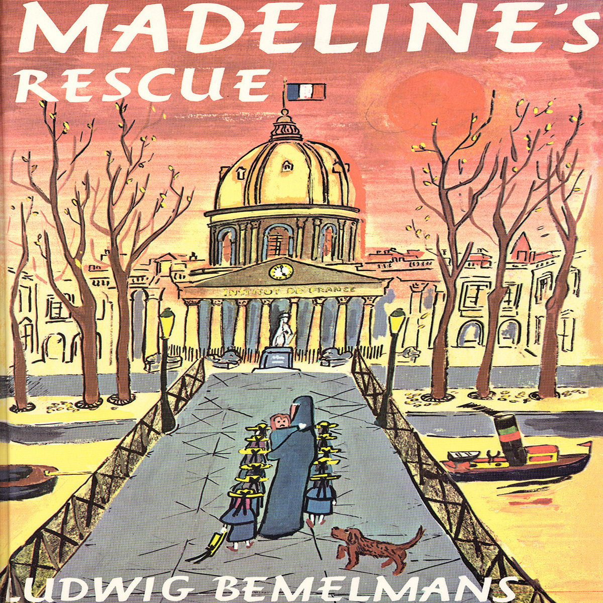 Printable Madeline's Rescue Audiobook Cover Art