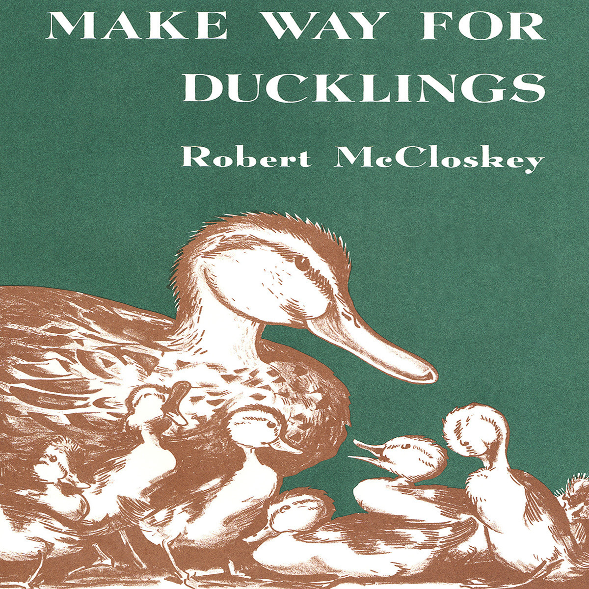 Printable Make Way for Ducklings Audiobook Cover Art