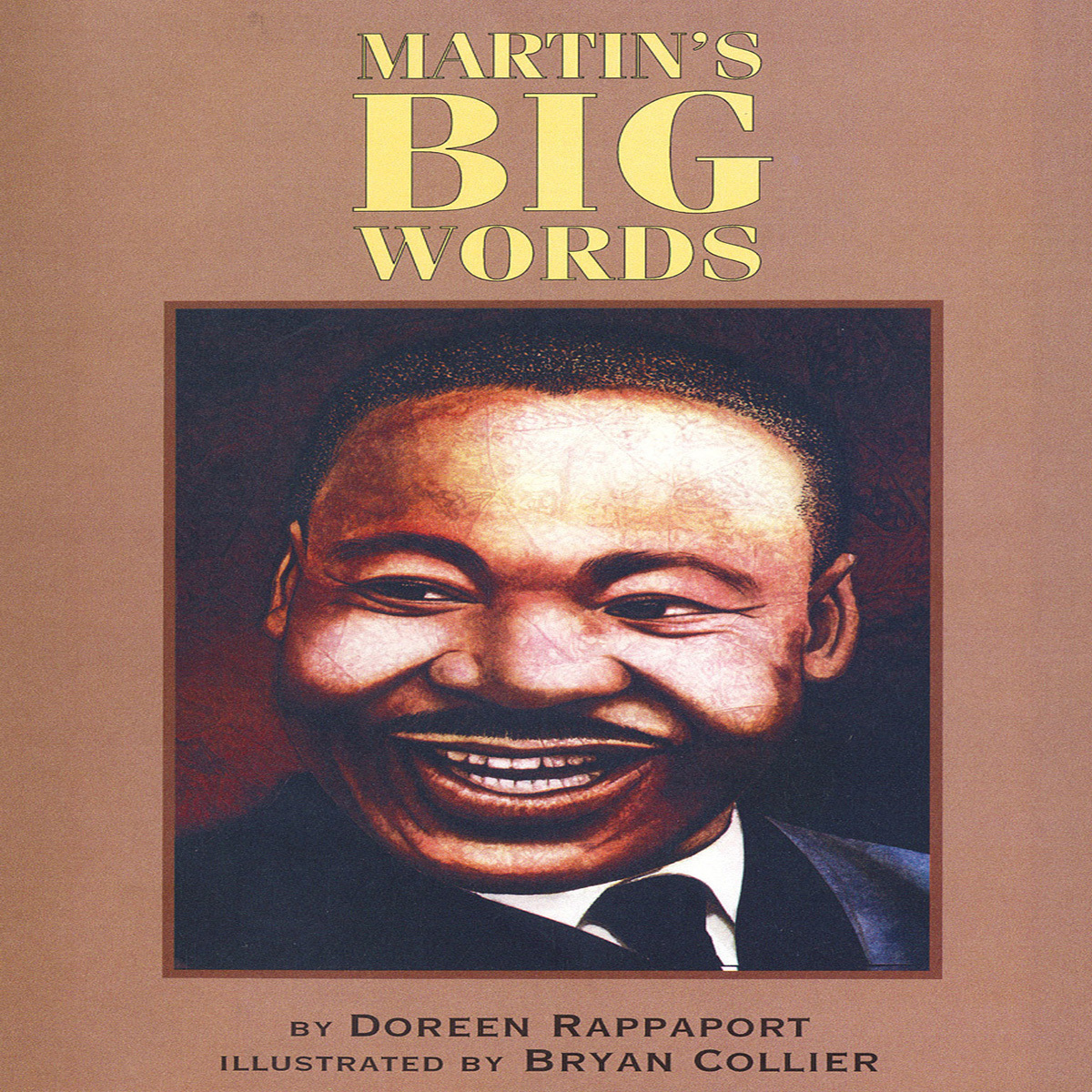 Printable Martin's Big Words: The Life of Dr. Martin Luther King Jr. Audiobook Cover Art