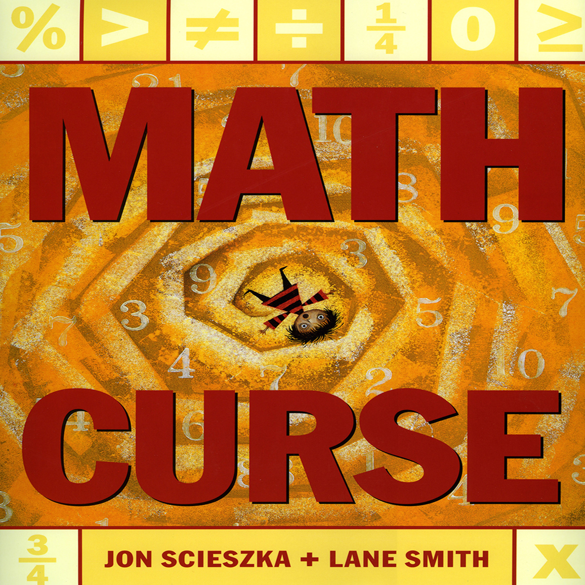 Printable Math Curse Audiobook Cover Art