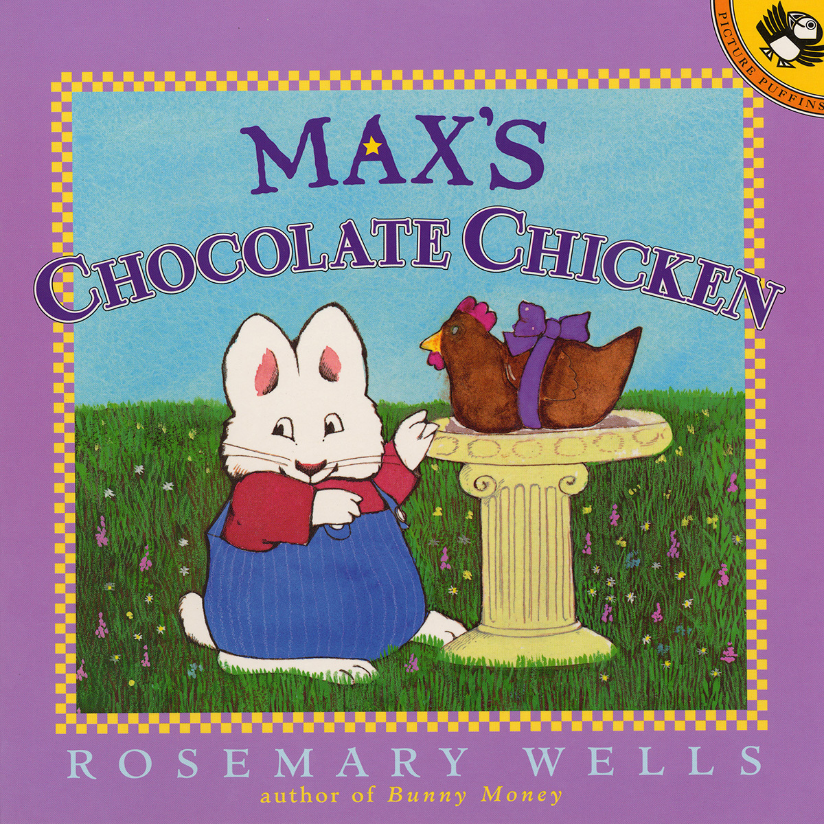 Printable Max's Chocolate Chicken Audiobook Cover Art