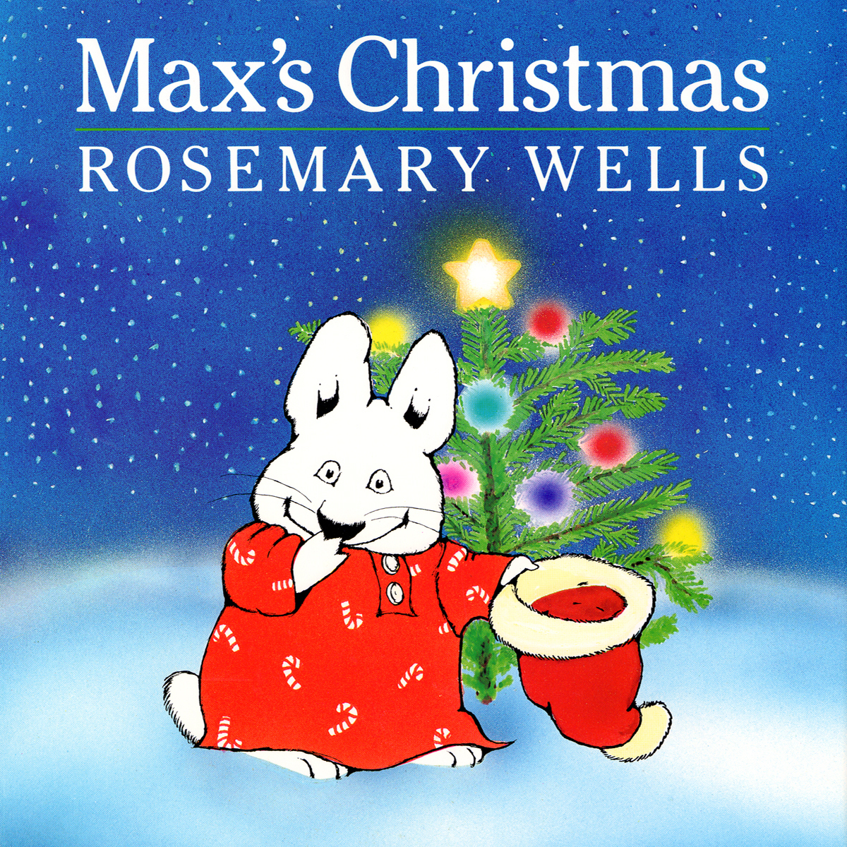 Printable Max's Christmas Audiobook Cover Art