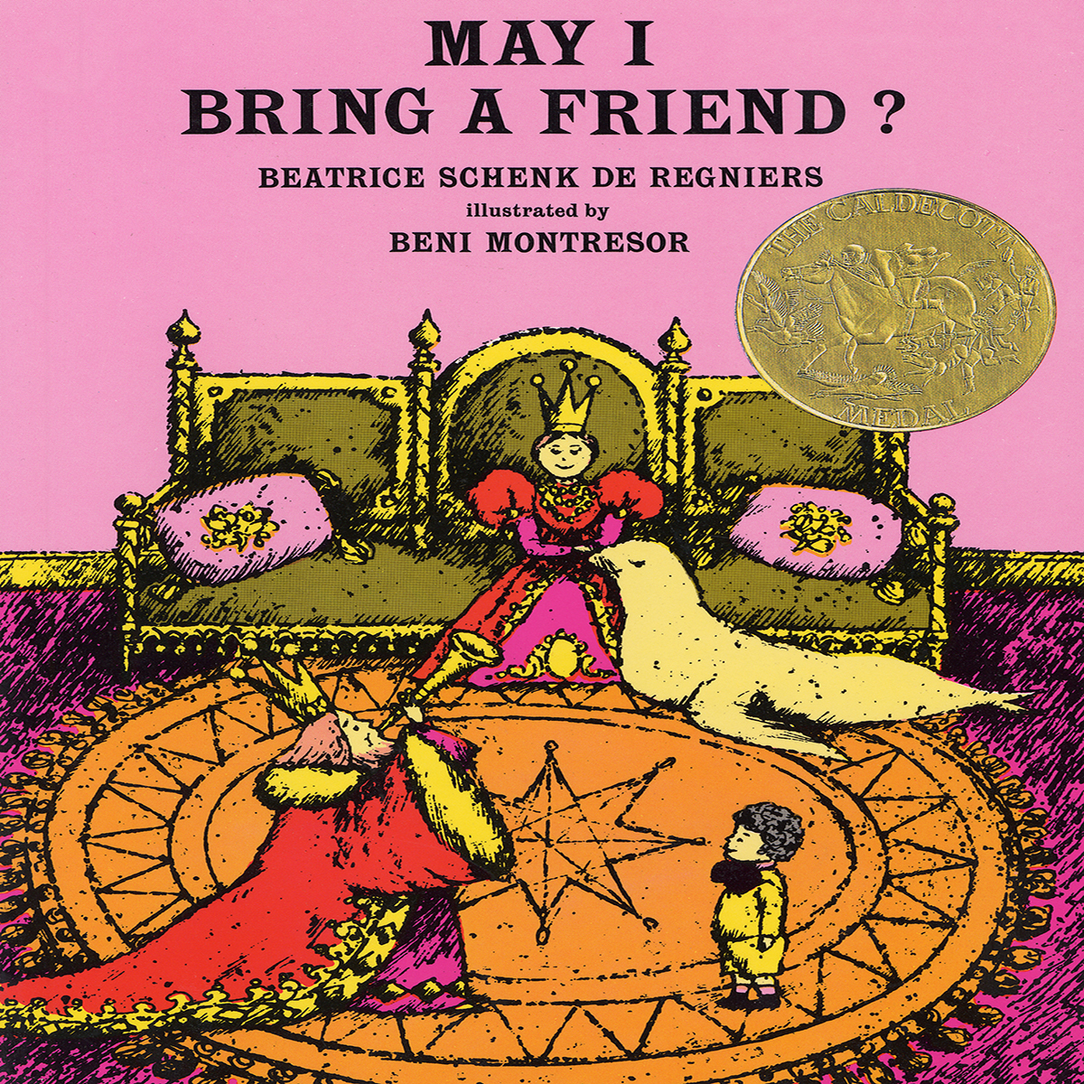Printable May I Bring a Friend? Audiobook Cover Art