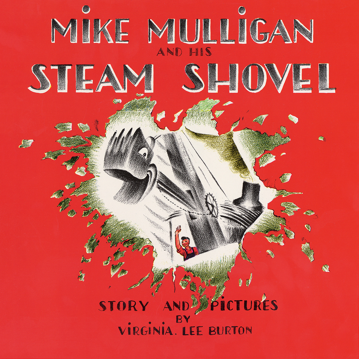 Printable Mike Mulligan and His Steam Shovel Audiobook Cover Art