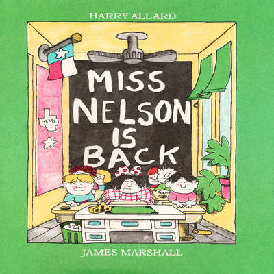 Miss Nelson Is Back Audiobook, by Harry Allard