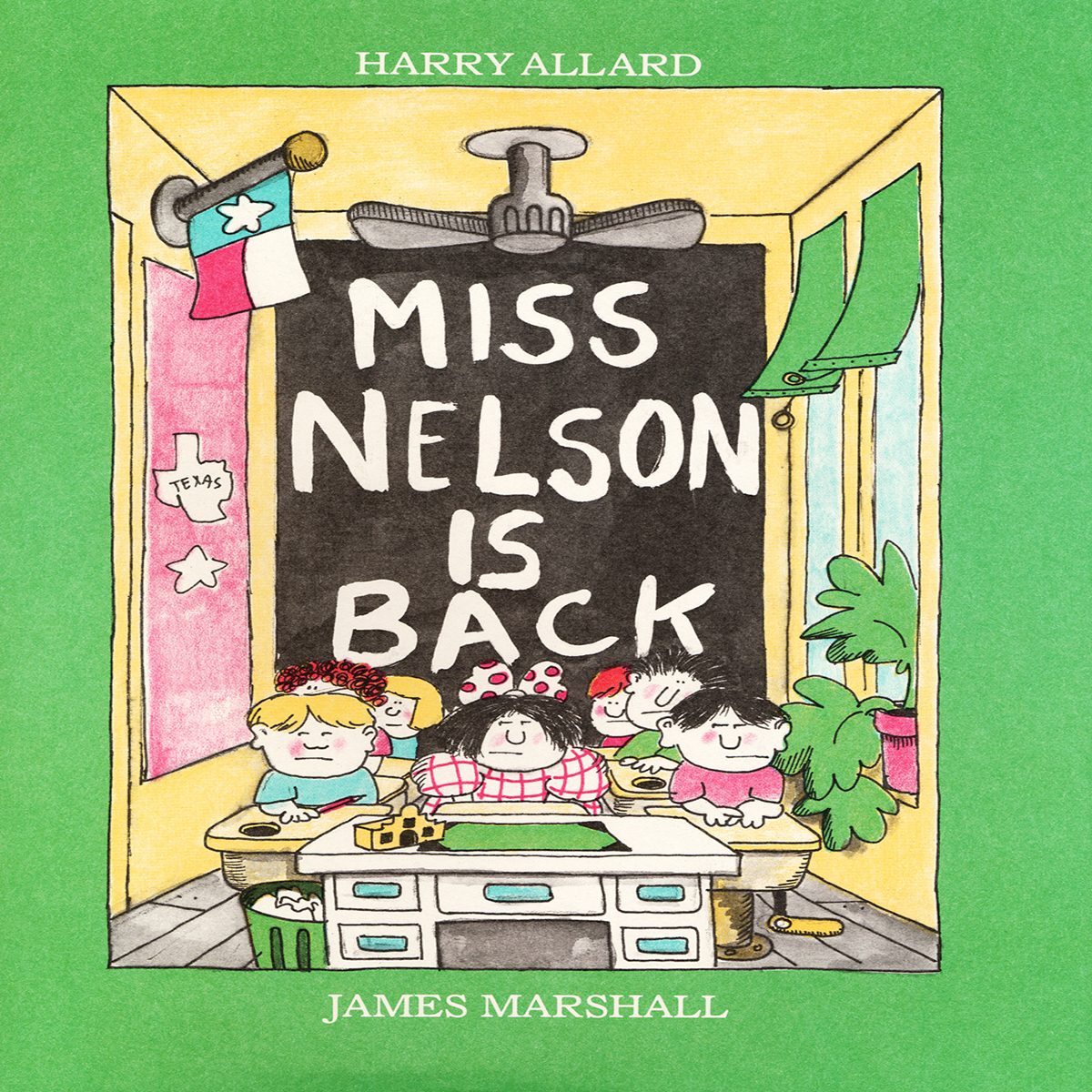 Printable Miss Nelson Is Back Audiobook Cover Art
