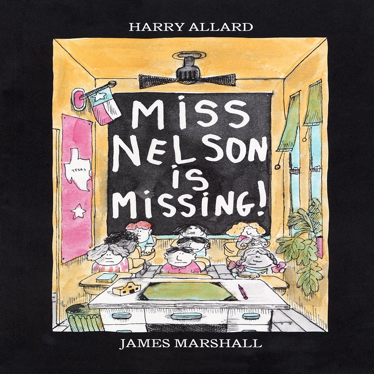 Printable Miss Nelson Is Missing! Audiobook Cover Art