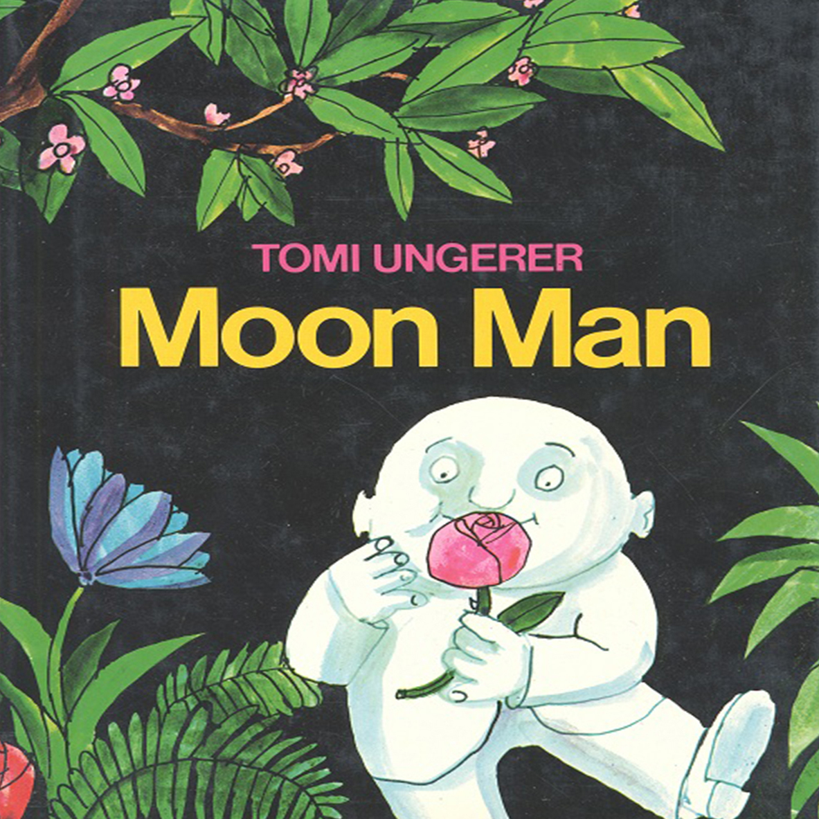 Printable Moon Man Audiobook Cover Art