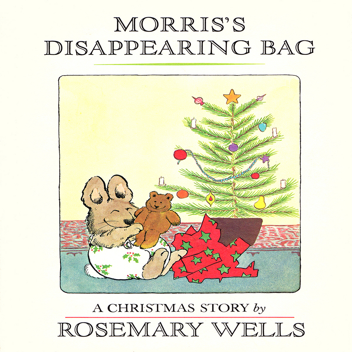 Printable Morris's Disappearing Bag Audiobook Cover Art