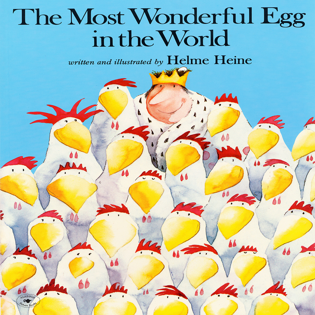 Printable The Most Wonderful Egg in the World Audiobook Cover Art