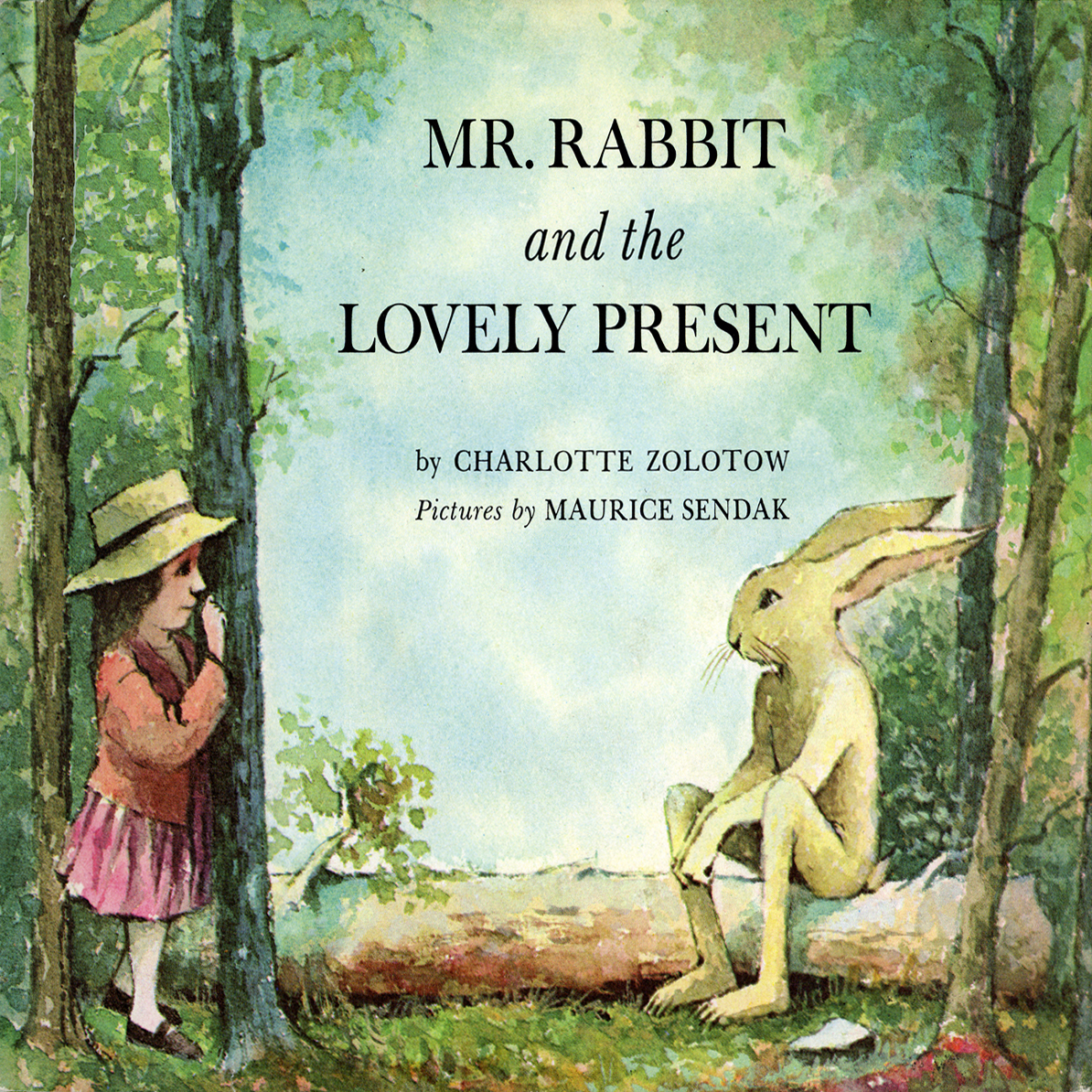 Printable Mr. Rabbit and the Lovely Present Audiobook Cover Art