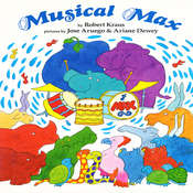Musical Max Audiobook, by Robert  Kraus