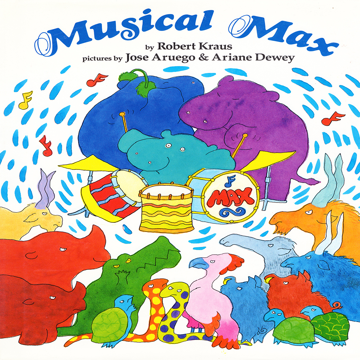 Printable Musical Max Audiobook Cover Art
