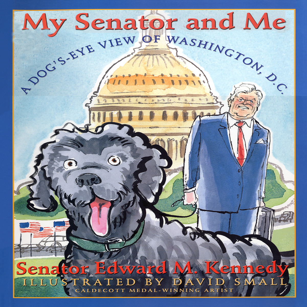 Printable My Senator and Me Audiobook Cover Art