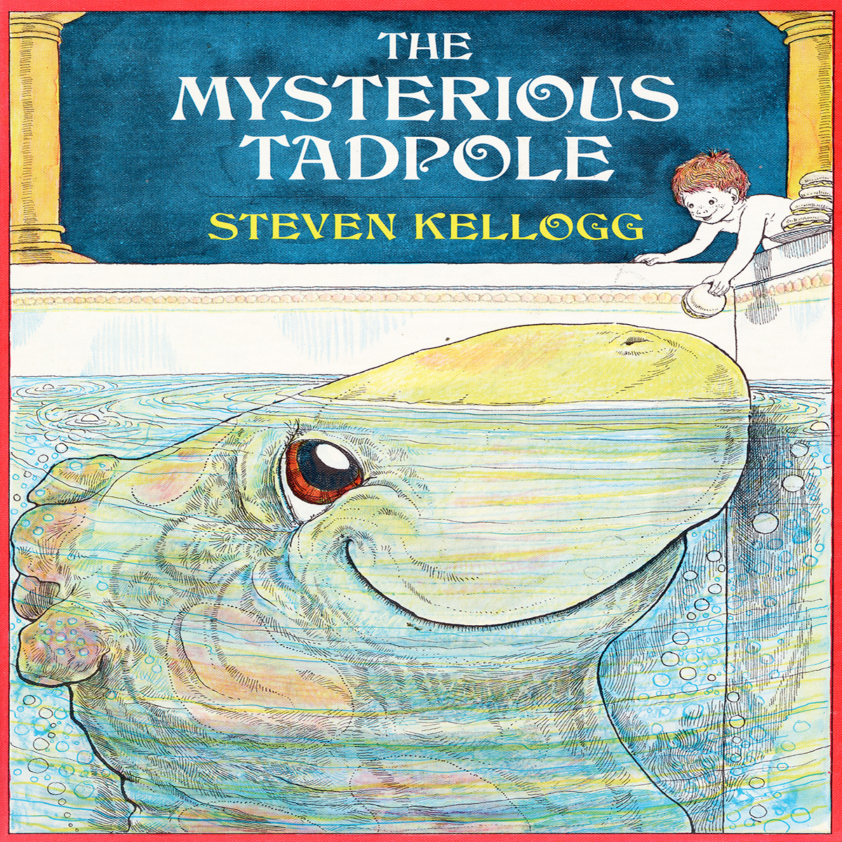 Printable Mysterious Tadpole Audiobook Cover Art