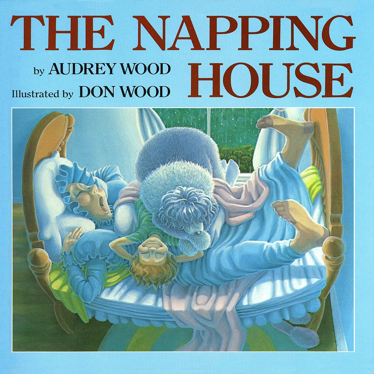 Printable The Napping House Audiobook Cover Art