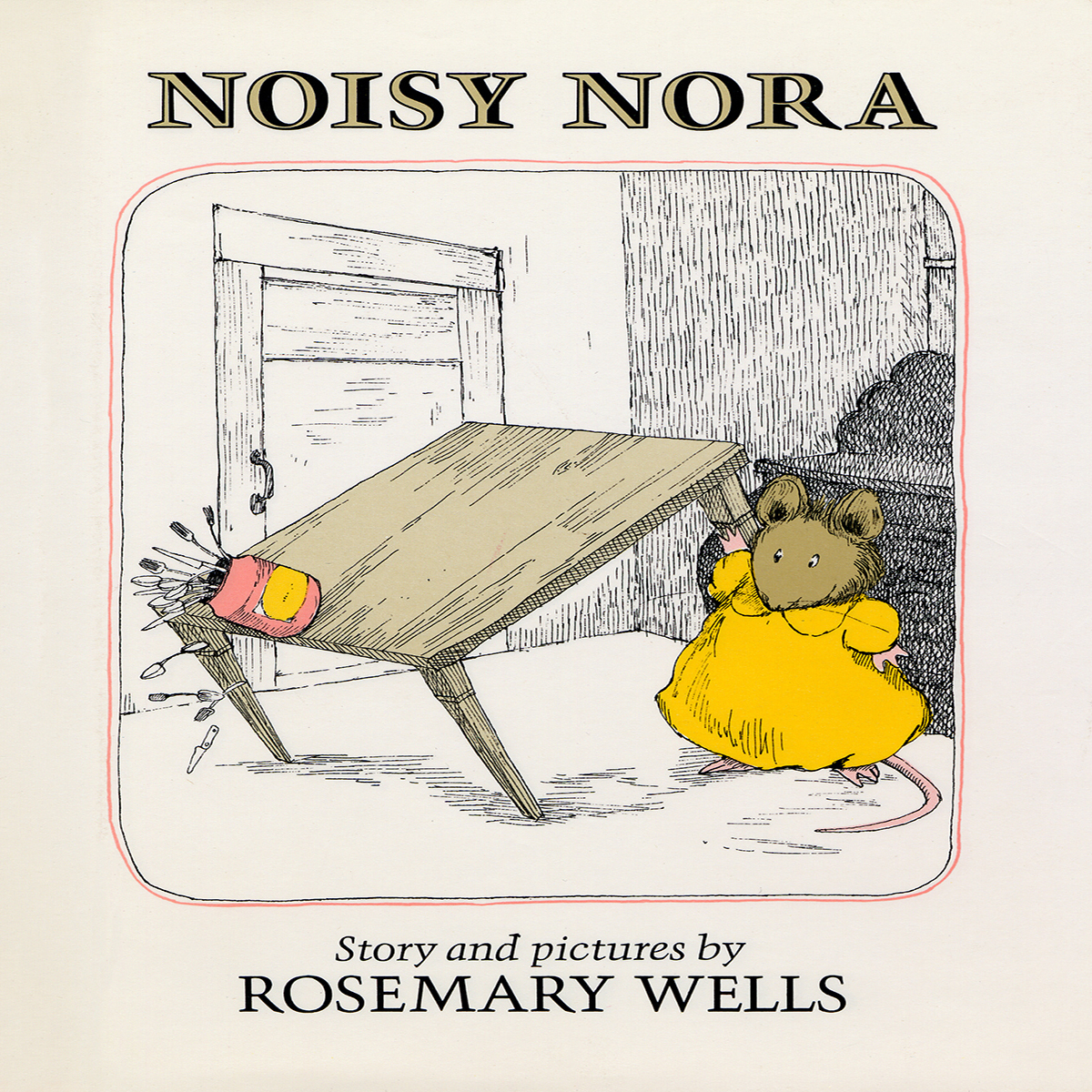 Printable Noisy Nora Audiobook Cover Art