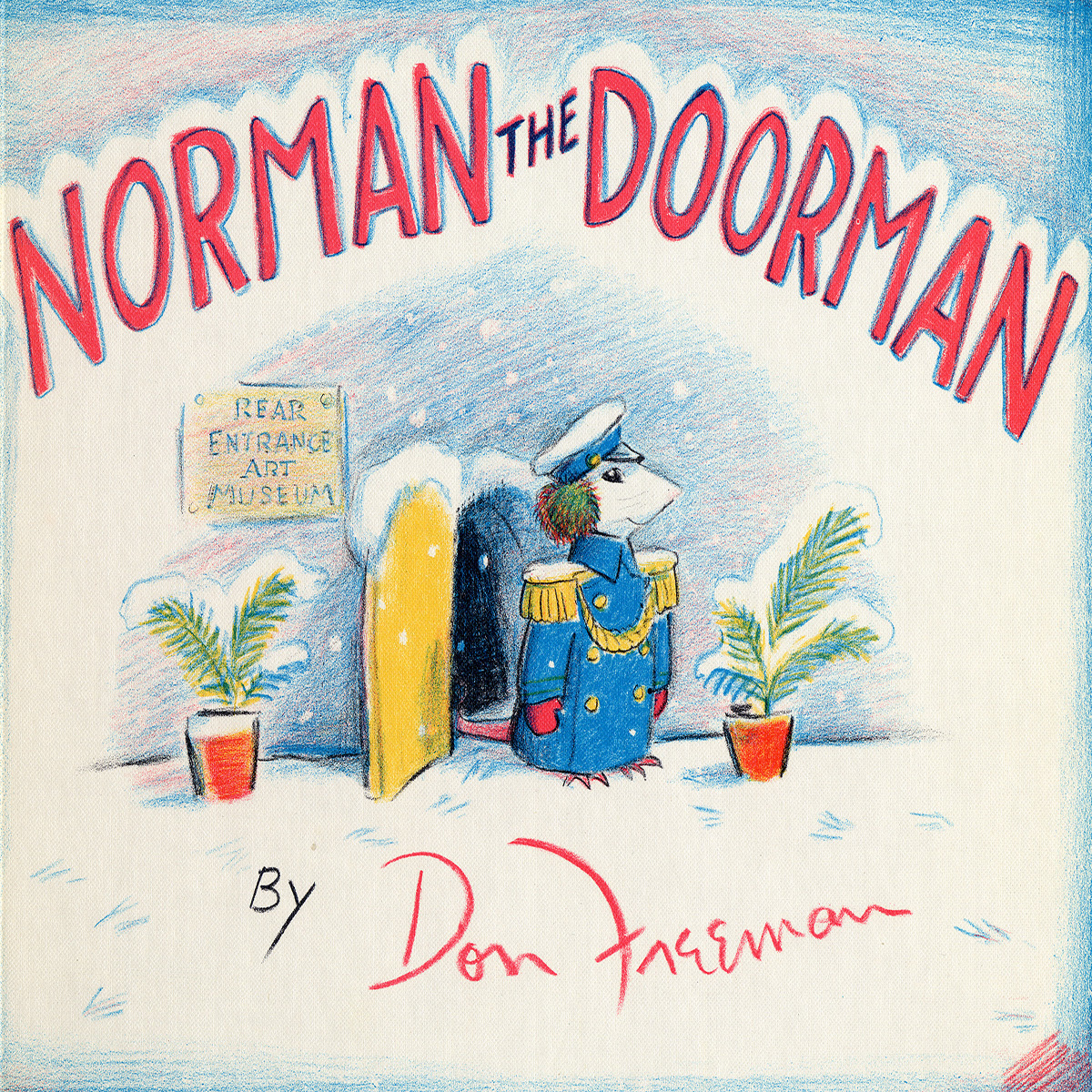 Printable Norman the Doorman Audiobook Cover Art