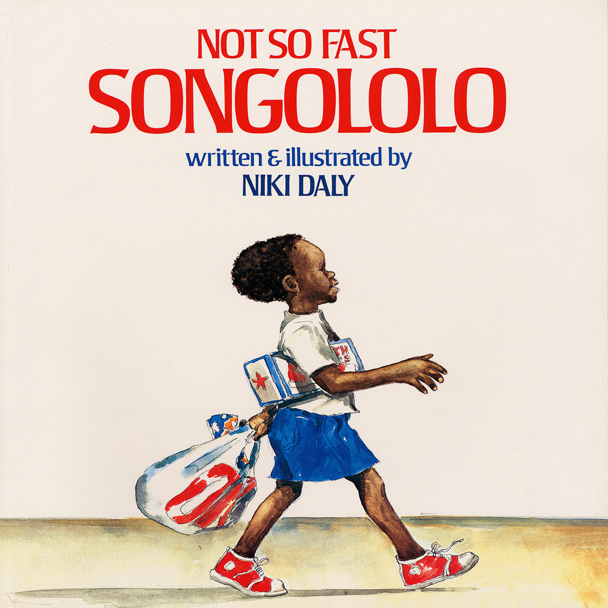 Printable Not So Fast, Songololo Audiobook Cover Art