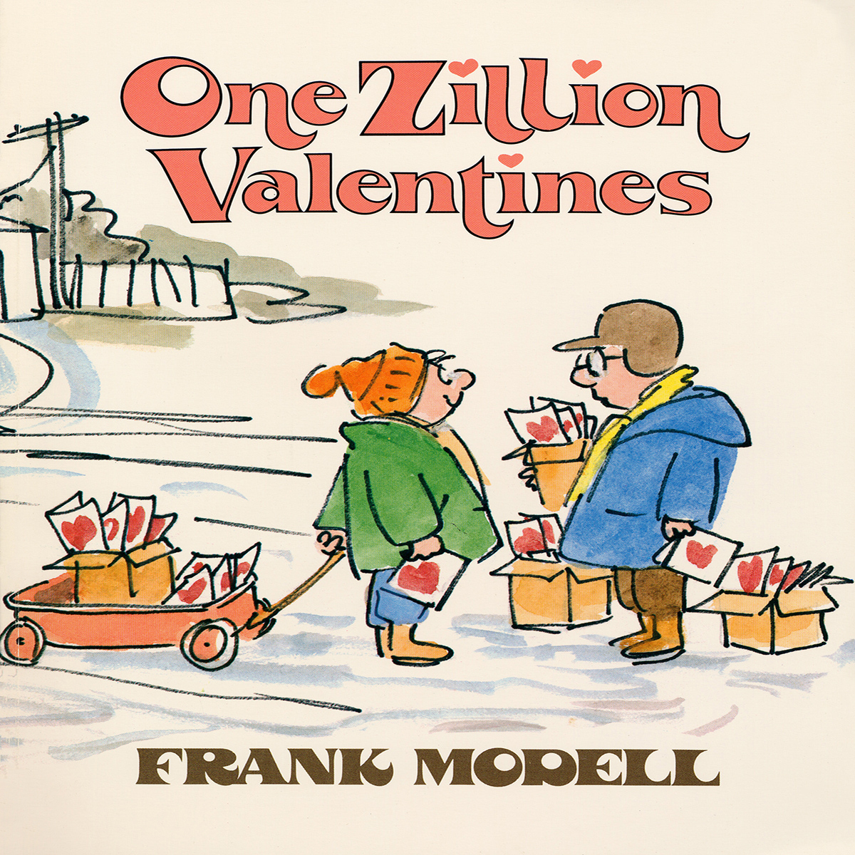 Printable One Zillion Valentines Audiobook Cover Art
