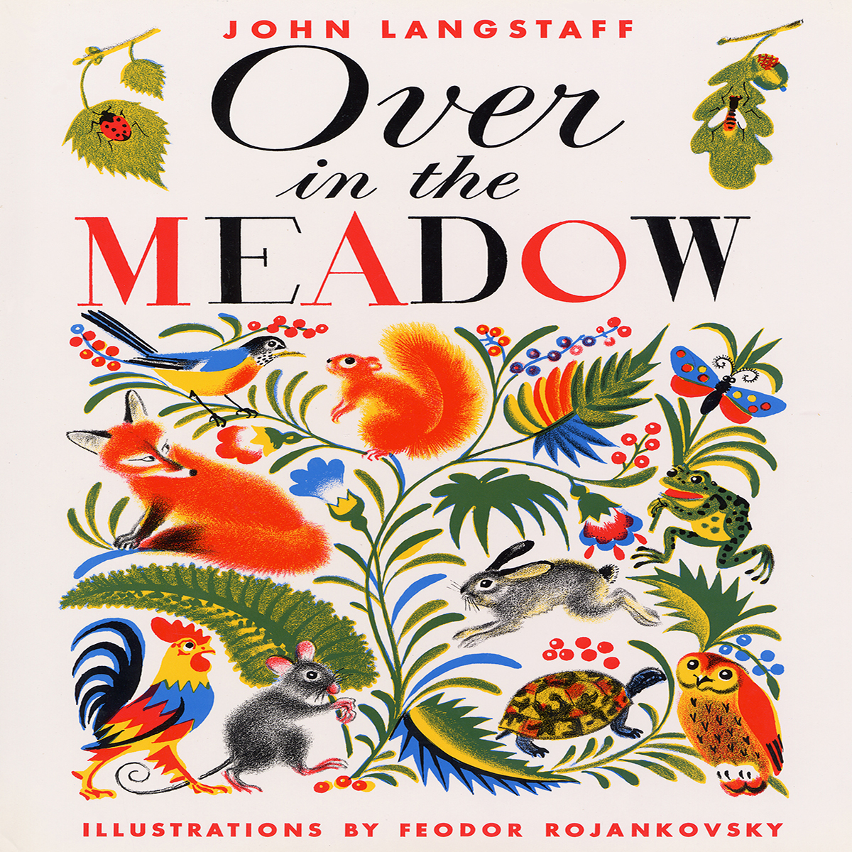 Printable Over in the Meadow Audiobook Cover Art
