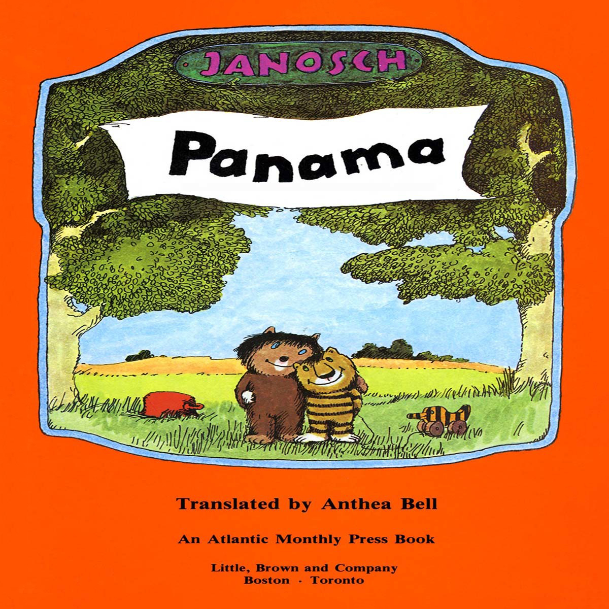 Printable Panama  Audiobook Cover Art