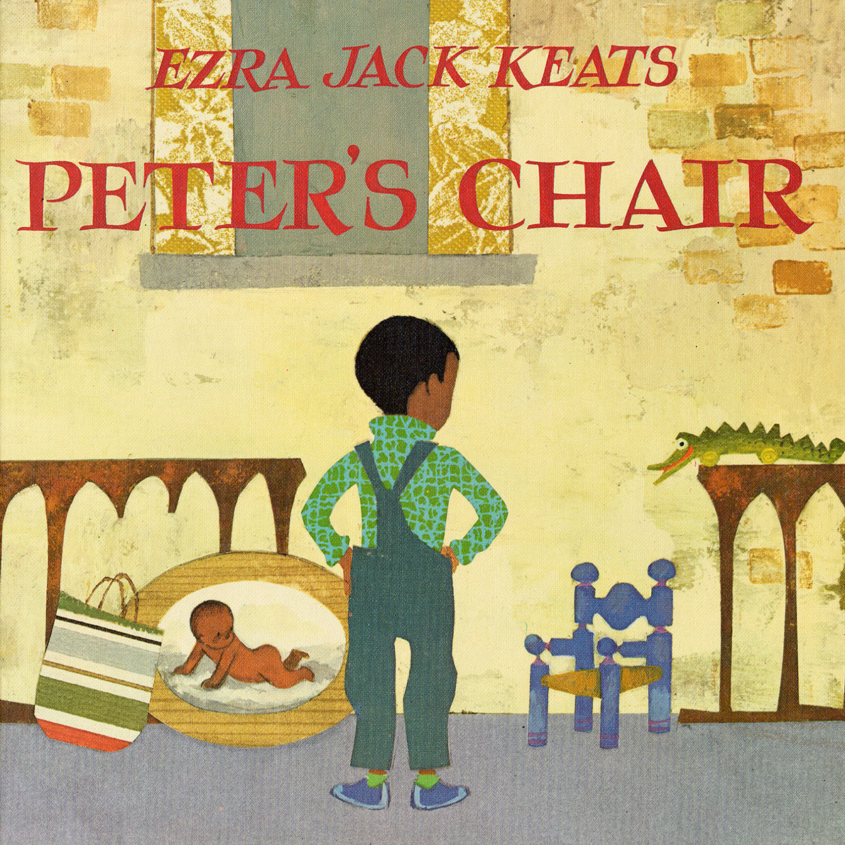 Printable Peter's Chair Audiobook Cover Art