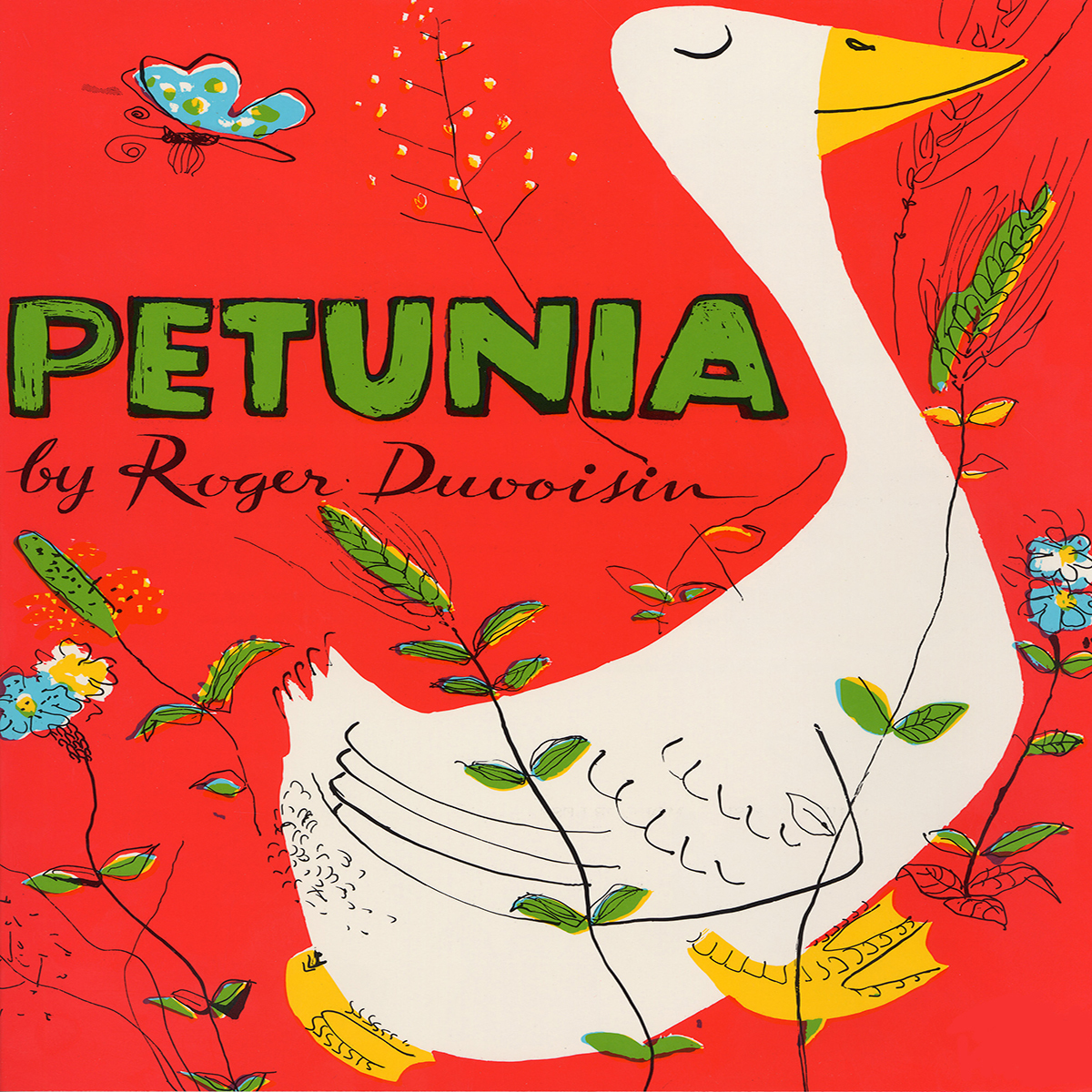 Printable Petunia Audiobook Cover Art