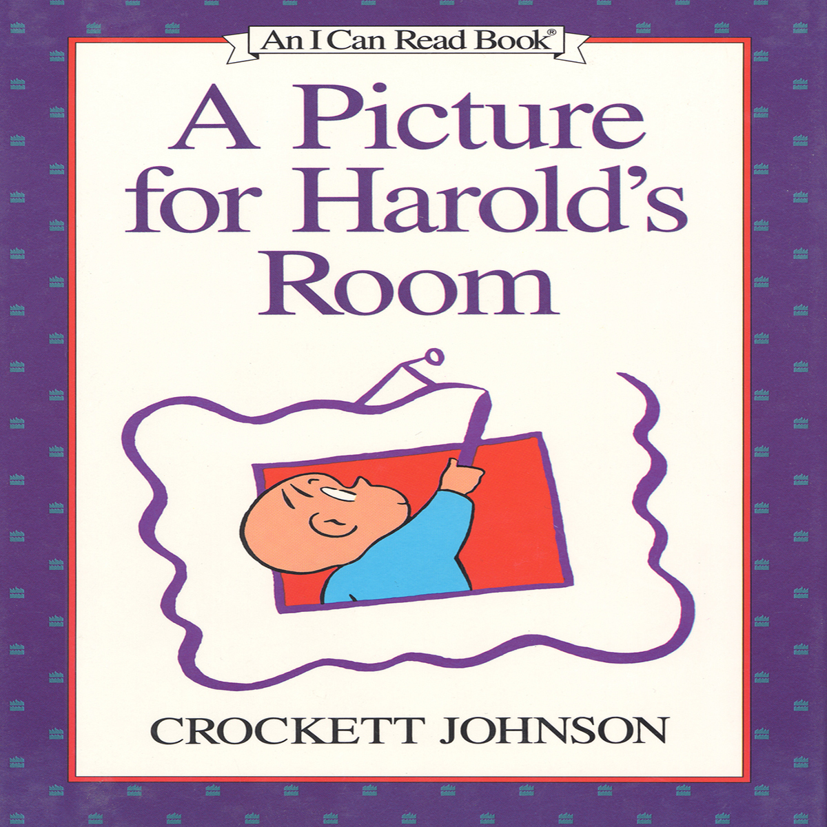 Printable A Picture For Harold's Room Audiobook Cover Art