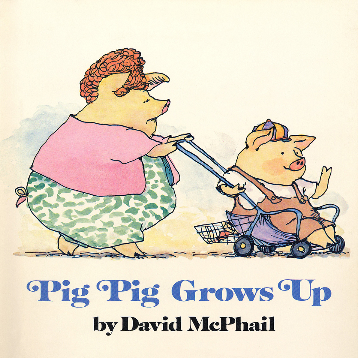 Printable Pig Pig Grows Up Audiobook Cover Art
