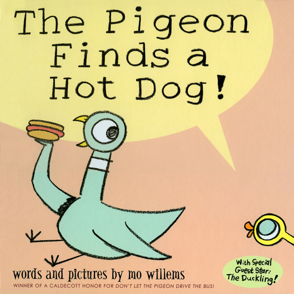 Printable The Pigeon Finds a Hot Dog! Audiobook Cover Art