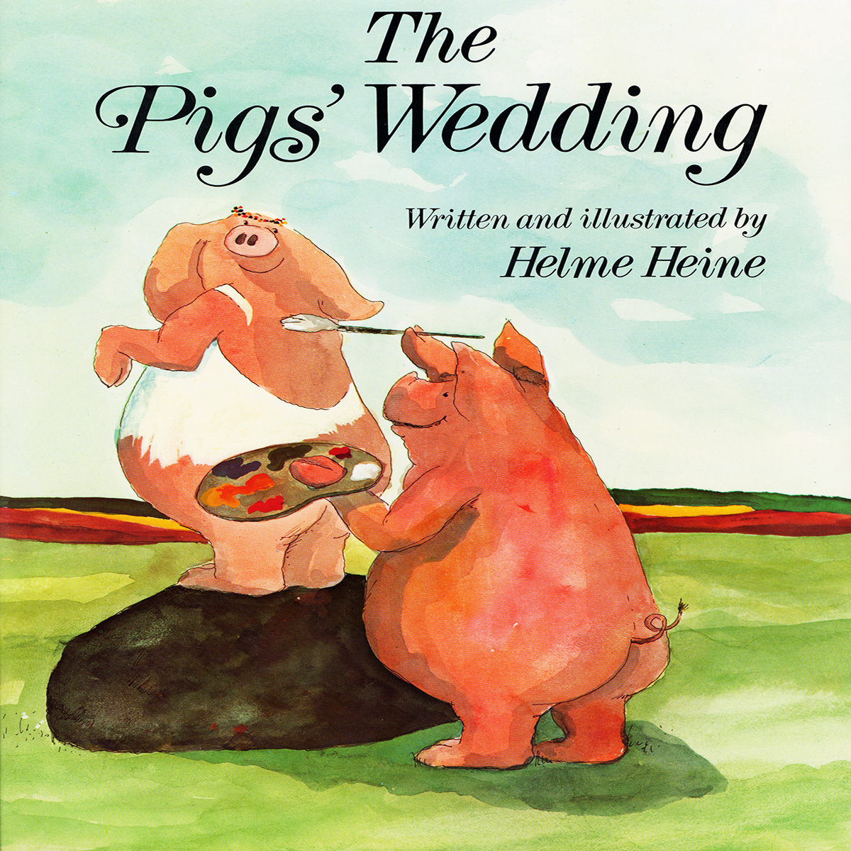 Printable The Pigs' Wedding Audiobook Cover Art