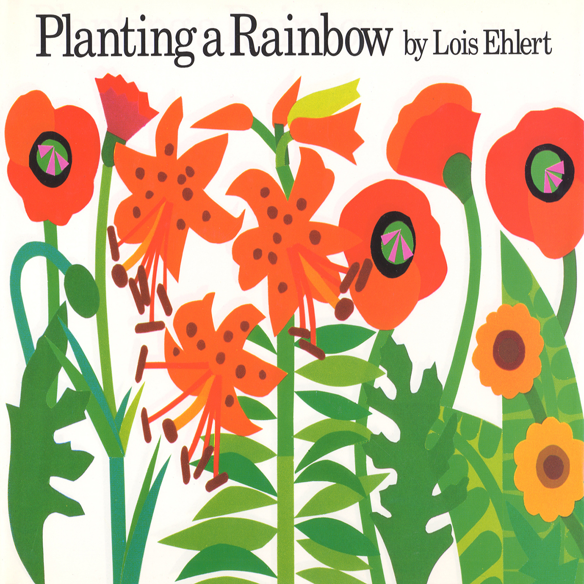 Printable Planting a Rainbow Audiobook Cover Art