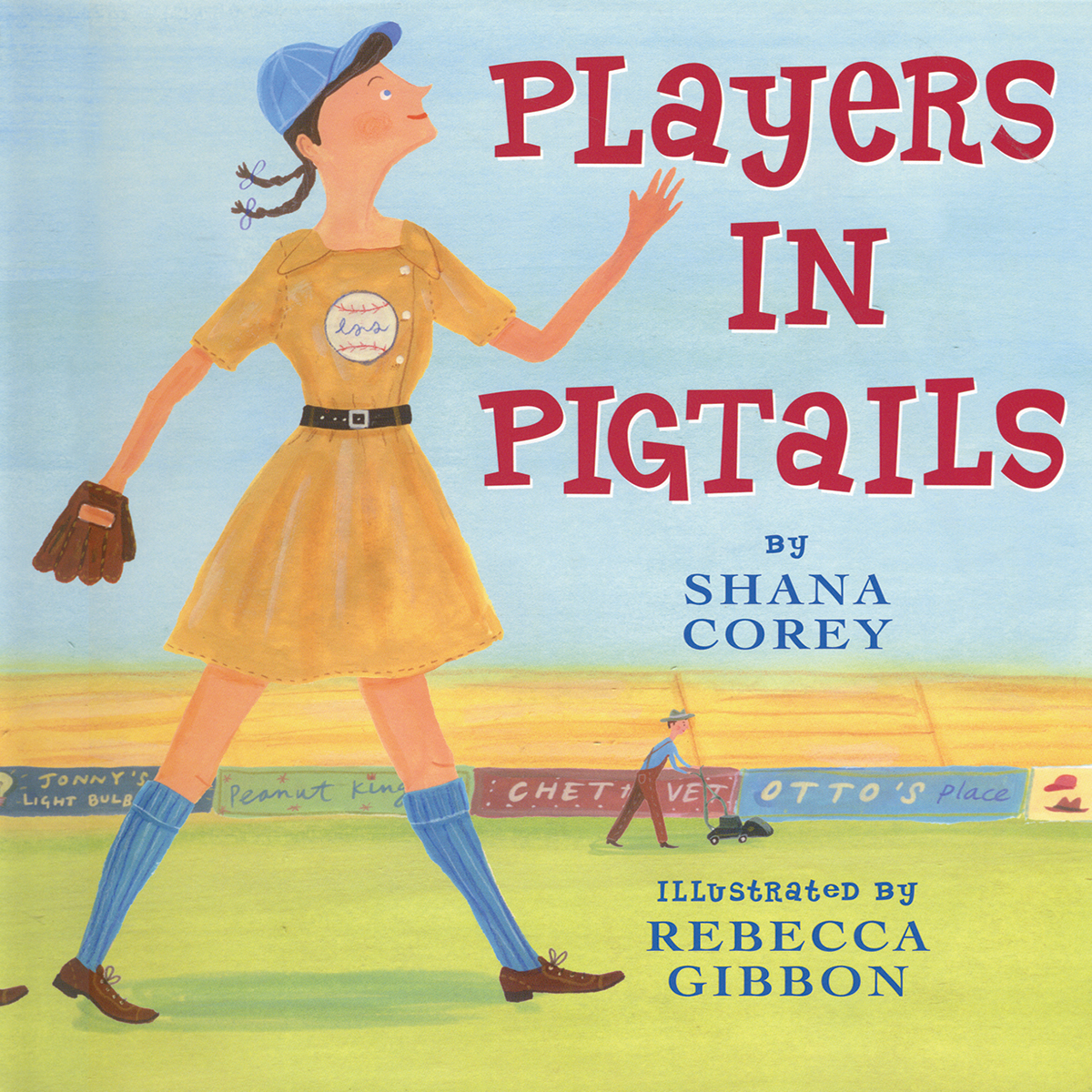 Printable Players in Pigtails Audiobook Cover Art