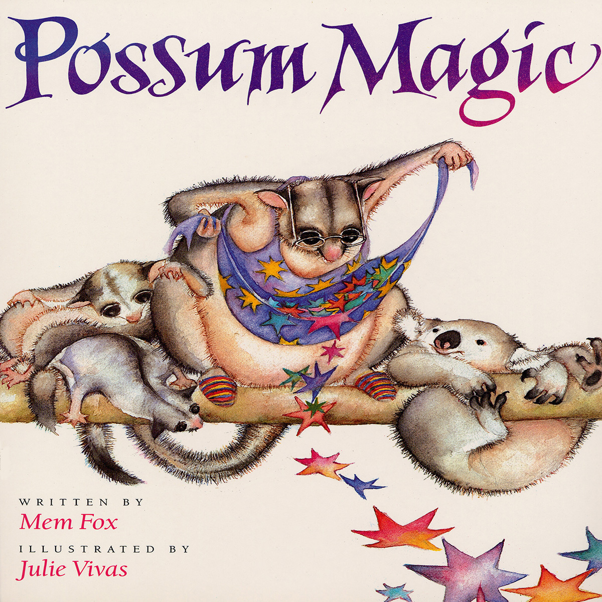 Printable Possum Magic Audiobook Cover Art