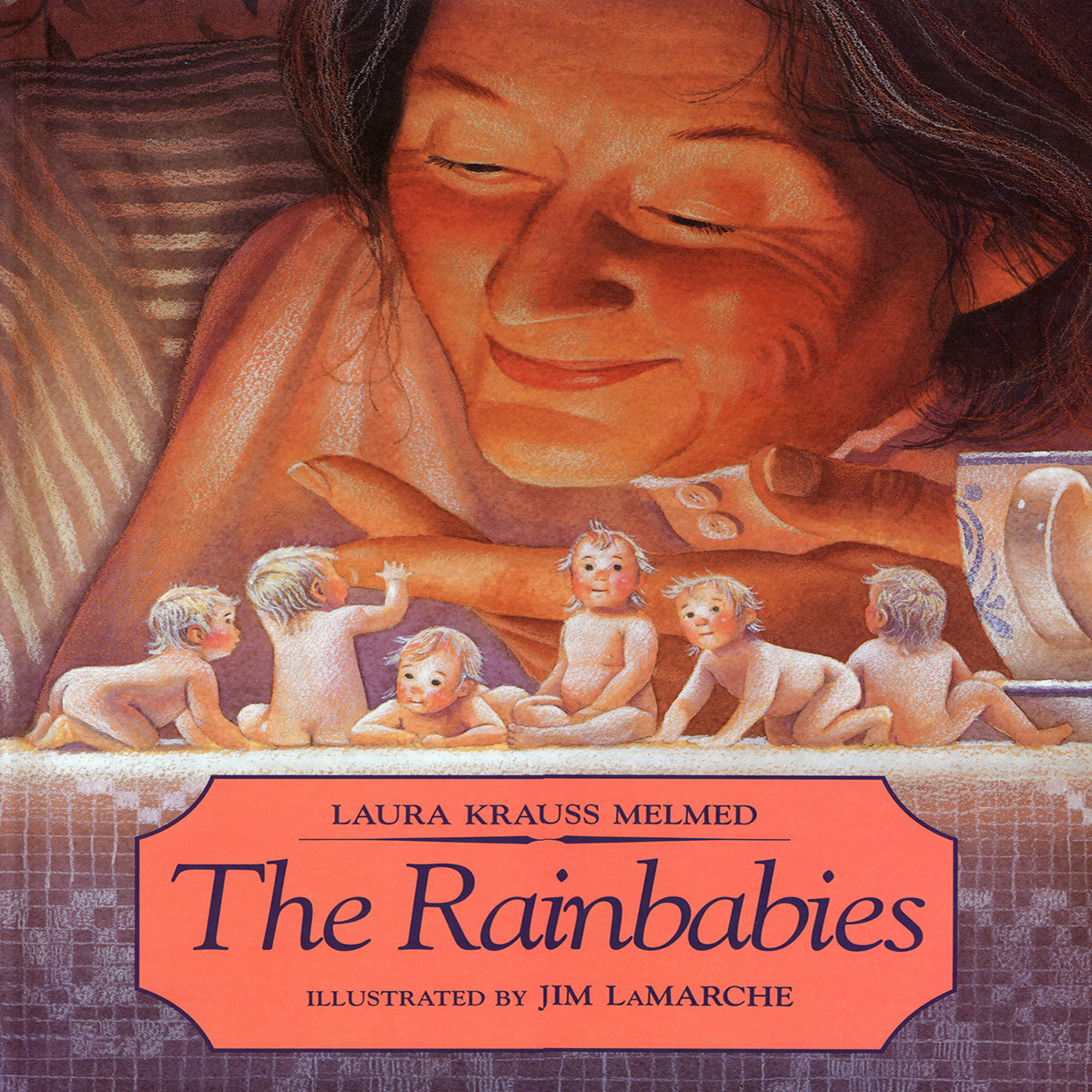 Printable The Rainbabies Audiobook Cover Art