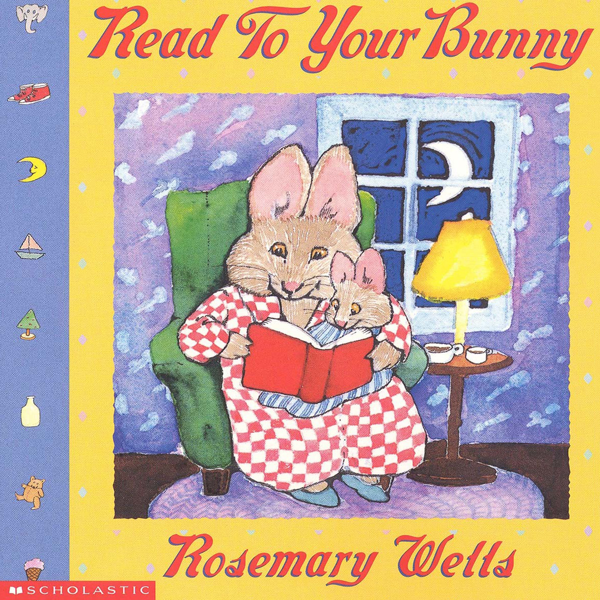 Printable Reading to Your Bunny Audiobook Cover Art