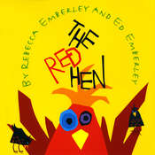 The Red Hen Audiobook, by Rebecca  Emberley